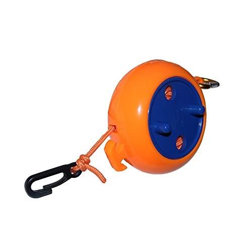NOLOGO Yg-CT Herramienta de Equipo de Camping al Aire Libre Tipo de Cubierta a Prueba de Viento Tendedero Tendedero retráctil rotación de Reciclaje al Aire Libre Gadgets (Color : Amarillo)