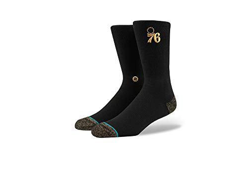 Stance NBA Sixers Trophy Socks - Black