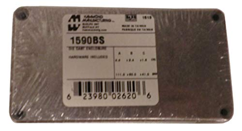 Hammond Electronics 1590BS Universal-Gehäuse 112 x 60 x 38 Aluminium Druckguss Aluminium 1 St.