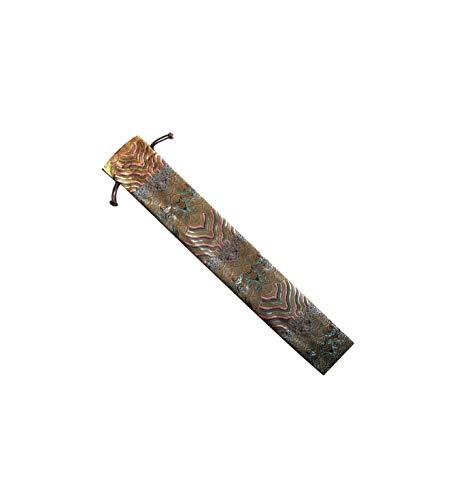 CHN Elements FANC-LBW Lüfter mit Kordelzug, orientalisches Design, Tai Chi/Tanzfächer, 39 cm lang