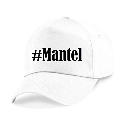 Base Cap Hashtag #Mantel Baseball Cap Basecap Hashtag ruit voor dames heren en kinderen in de trendy kleuren zwart en wit Hip Hop Streetwear Baseball-pet met het grote scherm