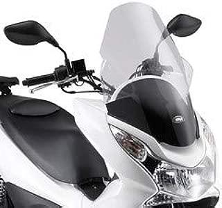 Parabrisas Parabrisas 1129DT D1163KIT Compatible con Honda PCX 125 2018 2019 GIVI Transparente