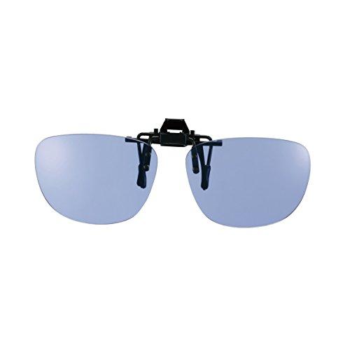 SWANS(スワンズ) サングラス メガネにつける クリップオン 跳ね上げタイプ CP-1000N ICBL ULTRAアイスブルー
