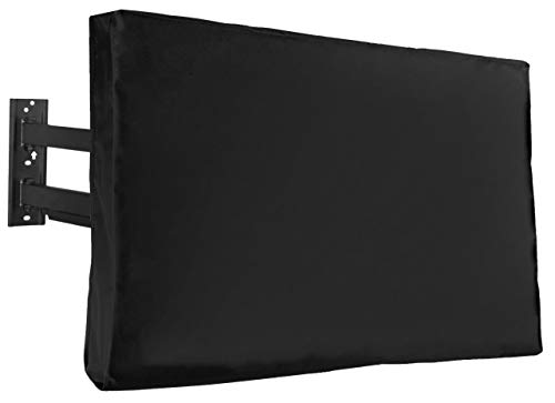 VIVO Flat Screen TV Cover Protector for 40 to 42 inch Screens, Universal, Outdoor, Weatherproof, Water Resistant, COVER-TV040B