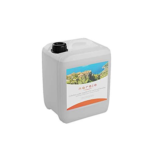 NARAJO® - Impermabilizante Incoloro - Impermeabilizante listo para su uso para fachadas, techados, materiales porosos - Aplicación sencilla Producto en fase acuosa de calidad profesional - 5 litros
