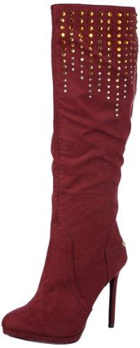 Blink BL 455, bottes & bottines femme - Rouge - Rot (bordeaux 34), 38 EU