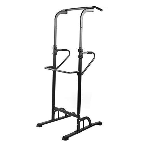 Pwshymi Barra Horizontal Multifuncional Fitness Pull Up Bar Acomoda 100 kg Buen Entrenamiento para su Altura
