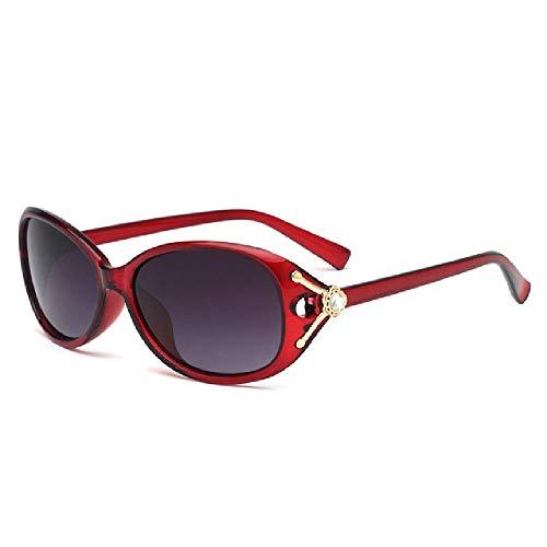 whcct Gafas de sol Mujer EleganteRetro Gafas de sol Mujer Espejo al aire libre magnífico