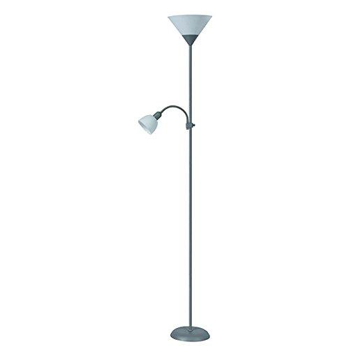 Rabalux vloerlamp Action Kleur: zilver/wit vloerlamp diameter: 230