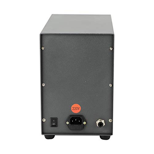 Potencia ajustable Fuerte y potente 110V 220V Soldador NC automático Soldador NC Soldadura de aleación de cobalto-cromo, para soldadura de oro puro(European standard 220V, pink)