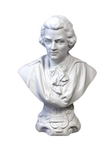 Kämmer Porzellanfigur Büste Wolfgang Amadeus Mozart groß