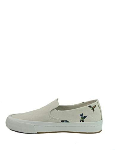 Levi\'s Herren Summit Slip ON Sneaker, Off-White, 45 EU