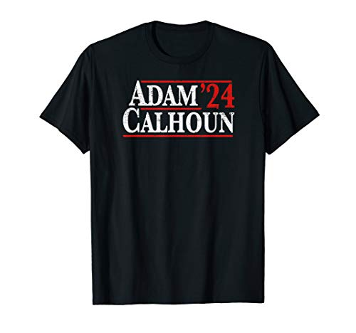 Adam Calhoun 2024 Vintage Distressed Campaign T-Shirt