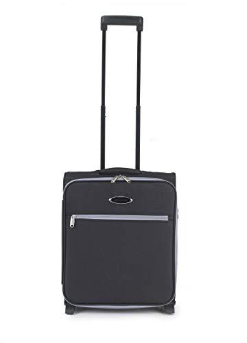 Constellation LG00321BGSTK Easyjet Approved Maximum Capacity Polyester Cabin Case, 36 L, Black/Grey