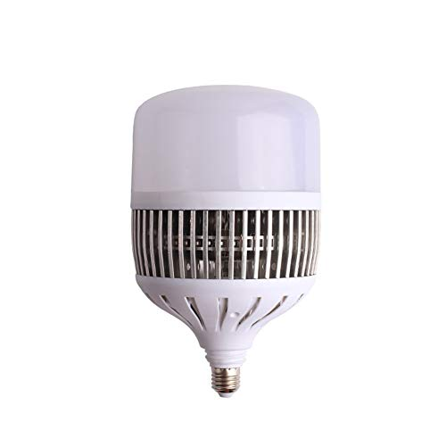LED Spaarlamp E27 / E40 Schroeflamp, Superheldere Wit Licht Spaarlamp, Niet Dimbaar, 2 Stuks (50W,E40)