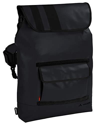 VAUDE Taschen Martin, Wandelbare Umhängetasche für den modernen Alltag, 22l, black, one Size, 141470100