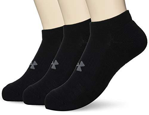 Calcetas para Ejercicio y Acondicionamiento Físico Training Cotton NS  Unisex Under Armour, Negro, LG US / GD MX