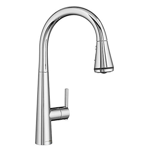 American Standard 4932300.002 Edgewater Pull-Down Kitchen Faucet with SelctFlo in Polished Chrome
