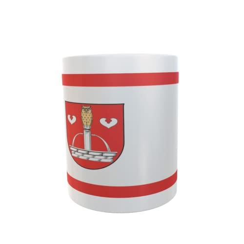 U24 Tasse Kaffeebecher Mug Cup Flagge Quickborn