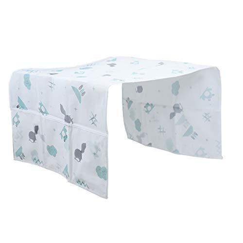 Home Kühlschrank Abdeckung Staubschutz Tuch | Top Gefrierfach Kühlschrank Beutel hängen die Tasche | Kühlschrank Transparente wasserdichte Abdeckung,Kühlschrank Staubschutz 130 × 54cm