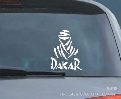 Zyunran Auto-Aufkleber Auto Aufkleber reflektierende Dakar Auto Aufkleber Buggy Aufkleber Offroad Dakar Autosport - rot Merchandiseprodukte Aufkleber
