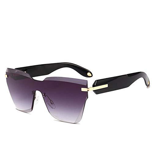 YANPAN Gafas De Sol con Montura De Gran Tamaño con Personalidad De...