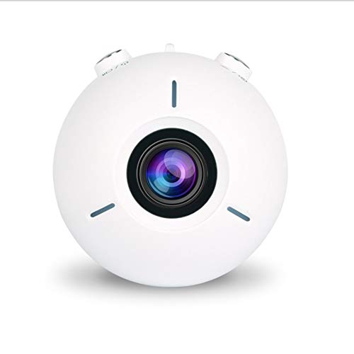 JZWX Action Camera, 4K HD-camera, Duiken Verlichting Intelligente slijtvaste waterdichte DV, onderwatercamera, 155 ° groothoek, afstandsbediening, wit