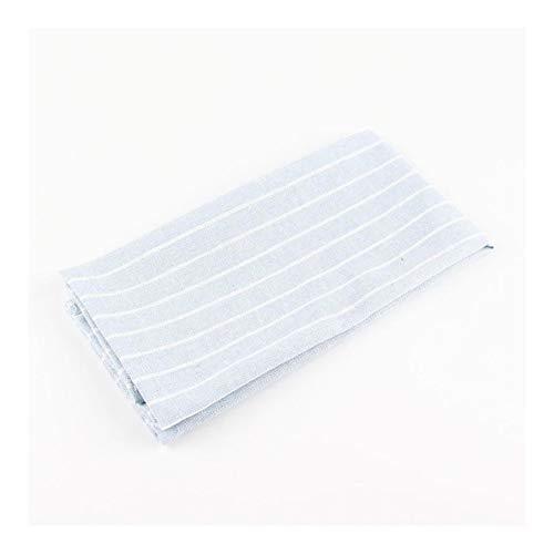 RJJX Home 30 x 40 cm Art und Weise Tuch Servietten Baumwoll-Leinen-Wärme Isoliermatte Esstisch Matte Kinder Serviette Stoff placemats (Color : CJ002 3040Blue)