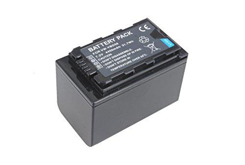 Power Smart® 7,2 V Li-ion 4400 mAh Batterie pour Caméscope Panasonic AJ-px298 px270, AJ, AJ-mdh2gk px298mc, HC-mdh2, HC, HC-K mdh2gk, HC-vbd29 mdh2 m, VW, de vbd58, K de vbd58e VW, Volkswagen VW vbd58ppk