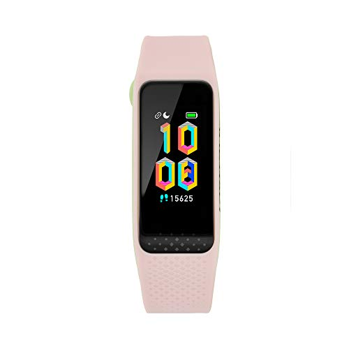 Fastrack reflex 3.0 Unisex activity tracker - Full touch, color display, Heart rate monitor, Dual- tone silicone strap and up to 10 days battery life