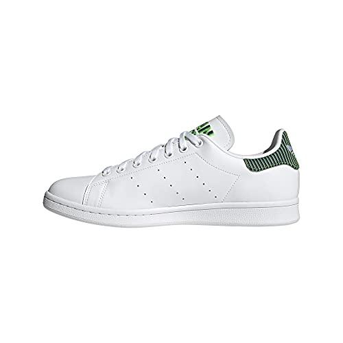 adidas Stan Smith, Zapatillas Deportivas Hombre, FTWR White FTWR White Solar Green, 43 1/3 EU