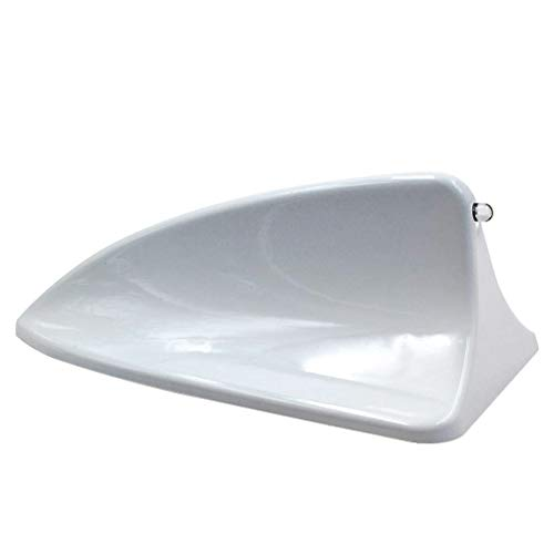 Car Auto Shark Fin Roof Antenna Radio Decorate Aerial Cover [White]