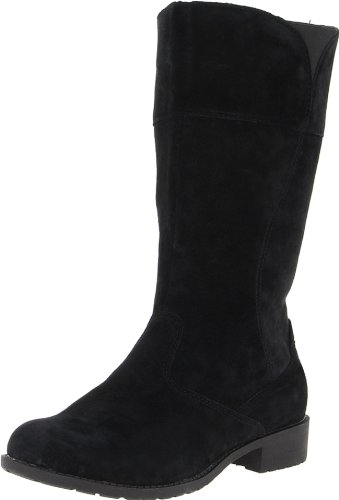 Propet Women's Lexington Boot,Black,6 D US