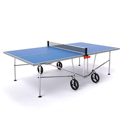 Vermont TS100 Tischtennis-Tisch für den Innen- und Außenbereich - EIN Blauer PingPong Tisch in 4 Optionen erhältlich - wählen Sie die richtige Tischtennisplatte Optionen aus (Tisch nur)