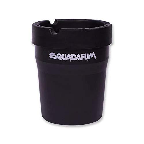 Cinzeiro automotivo de plástico Squadafum