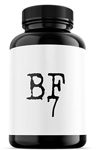 BF7 - Mental Booster Studium & Beruf, Konzentration + Gedächtnis - mit L-Arginin, L-Theanine, Magnesium, Ginkgo