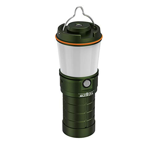 Camping Lantern,Sofirn BLF LT1 Rechargeable Water Resistant Dimmable LED Flashlight for Hiking, Hurricanes, Storms, Emergency, Outdoors, Survival, Bushcraft