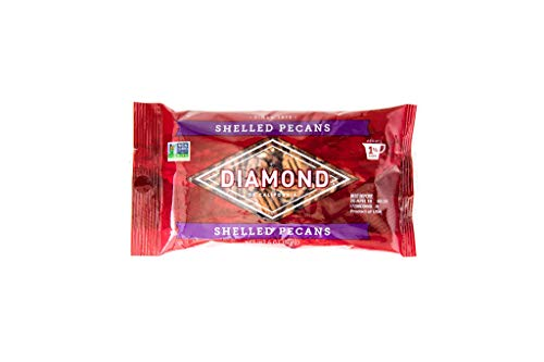 Diamond of California Shelled Pecans, 6 oz. Bags (Pack of 4)