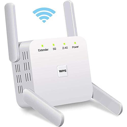 HONGEE Répéteur WiFi Amplificateur WiFi sans Fil Puissant...