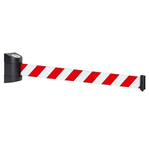 FlexiBarrier - Nastro per bloccaggio, retrattile, da parete, basic, 4,5 m