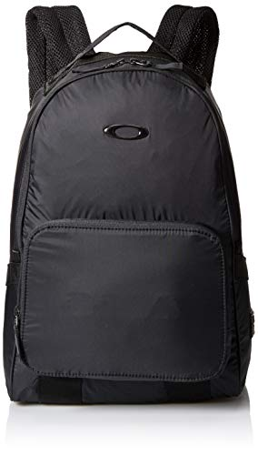 Oakley Mens Packable Backpack Mochilas, Blackout, Talla única para Hombre