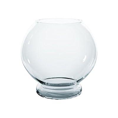 Kugelaquarium mit Glasfuß 13,5 Liter