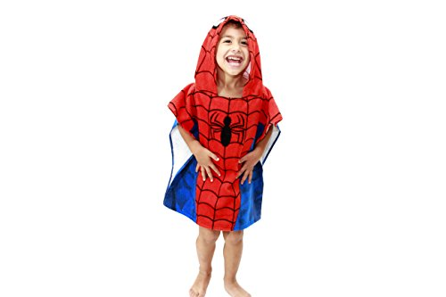 Jay Franco Hooded Towel, Spiderman Classic