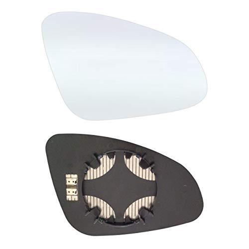Rechts Beifahrerseite Spiegelglas mit Platte und Heizung #AM-OLASAJ10-RCH