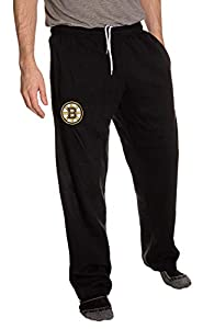 NHL Men's Official Team Sweatpants (Medium, Boston Bruins) from