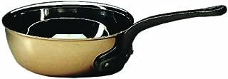 Matfer Bourgeat COPPER FLARED SAUTE PAN WITHOUT LID, 373016, 6-1/4 Inch (Renewed)
