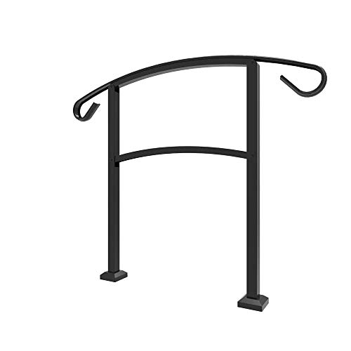 Railing Now - Triad Transitional Handrail (Black)