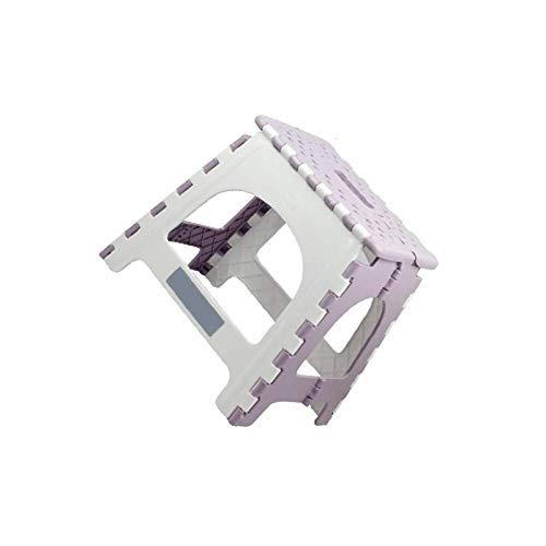 WANBAO Sencillo Plástico Multifuncional Silla Plegable Silla Asiento Almacenamiento al Aire Libre Plegable Sillas sin floding 1 PC