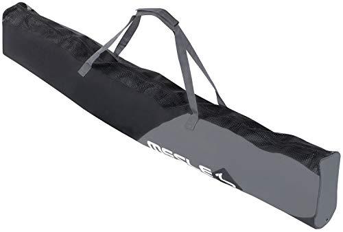 MESLE Wasserski-Tasche Universal, für Combo-Ski, Slalom-Ski bis 175 cm Länge, Bag, schwarz-grau