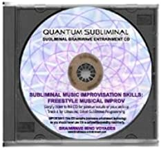 BMV Quantum Subliminal CD Music Improvisation Skills: Freestyle Musical Improv Solo (Ultrasonic Subliminal Series)